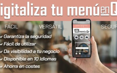 MenuenQr la digitalización de la Hostelería